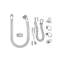 Gas Cooker Installation Kit No.4 – Micropoint – LPG