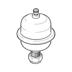 Mini Expansion Vessel Shock Arrestor - 15mm