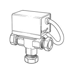 ZVM28 Motorised Mid-position Valve - 3 Port 28mm