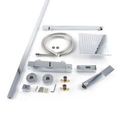 Nulo Bar Shower Kit with Soaker