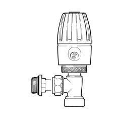 Pegler Terrier Push-fit TRV - 15mm