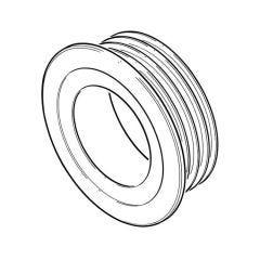 PipeSnug™ Wall Seal - 110mm Grey