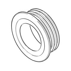 PipeSnug™ Wall Seal - 110mm White