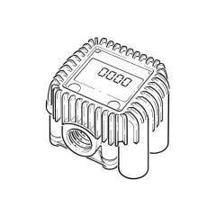 "Piusi Flow Meter - 1/2"" BSP - K400"