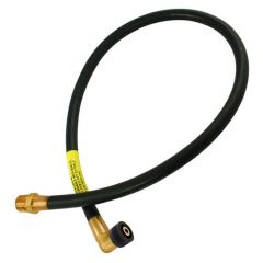 Plug-In Micropoint Bayonet Gas Cooker Hose 3ft