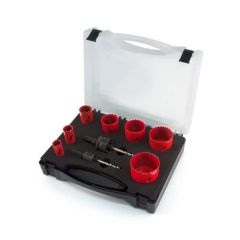 Plumbers Hole Saws Kit