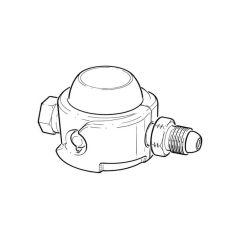 Clesse Propane Low Pressure Regulator - 4 kg/hr