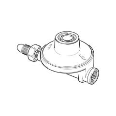 Clesse Propane Low Pressure Regulator - 4 kg/h