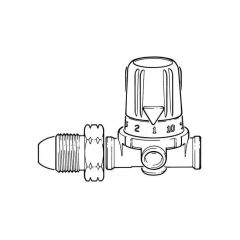Propane High Pressure Regulator - 0.50 to 4 bar