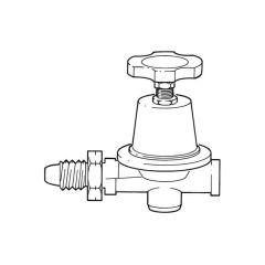 Propane High Pressure Regulator - 8 kg/hr