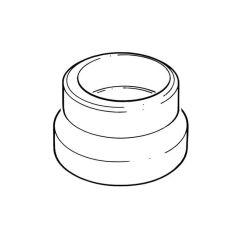 Drain Connector 68mm Socket x 82mm Spigot or Socket
