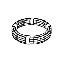 Polyfit Conduit Pipe Coil - 22mm x 25m