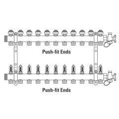 Polyplumb Manifold - 11 Port