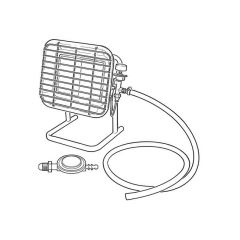 Portable Propane Site Heater