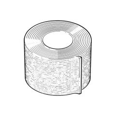 Prem50 Corrosion Protection Tape - 50mm x 10m