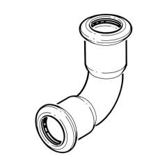 Press-fit Water Elbow - 22mm