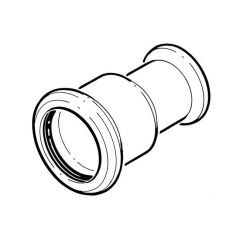 Press-fit Water Reducing Coupling - 28 x 22mm