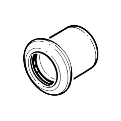 Press-fit Water Stop End - 54mm