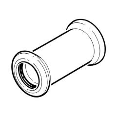 Press-fit Water Straight Coupling - 22mm