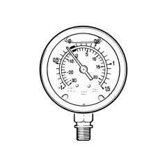 Pressure/Vacuum Gauge