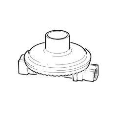 Propane Low Pressure Regulator - 4 kg/hr