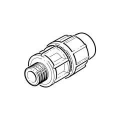 "Puriton® Adaptor - 25mm x 3/4"" BSP PM"