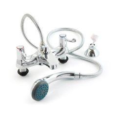 Quarter Turn Lever Handle Bath Shower Mixer Tap