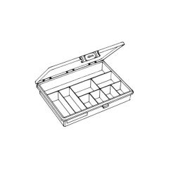 Raaco Small Items Storage System - 9 Compartments