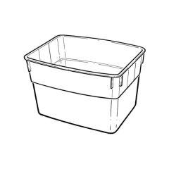 Rectangular Cold Water Storage Tank 18L - 4 Galls