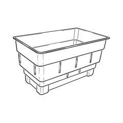 Rectangular Cold Water Storage Tank 227L - 50 Galls