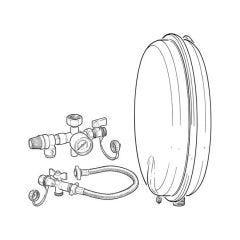 Robokit Compact Vessel & Filling Kit - 12 Litres