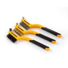 Roughneck® Mini Brush - Set of 3