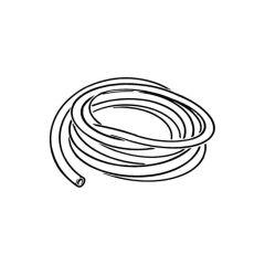Drain Pressure Testing Rubber Hose - 2m