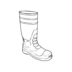 Safety Wellington - Size 8