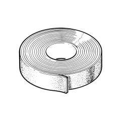 Class O Adhesive Tape Black - 3mm x 50mm x 15m