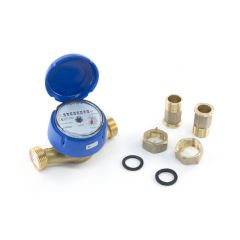 Single Jet Cold Water Meter - 3/4""