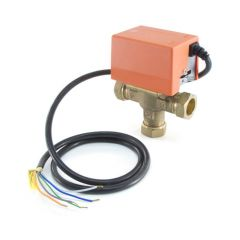 Solar Diverter Valve - 22 mm - 3 Port