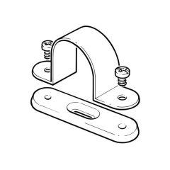 Conduit Spacer Bar Saddle Clip - 20mm