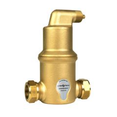 SpiroVent® Horizontal Air Separator 22mm Compression