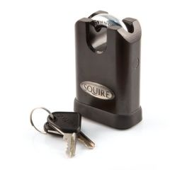 Squire - 50 mm - 5-Pin Closed Shackle Steel Padlock