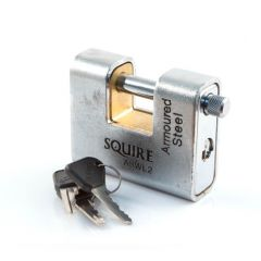Squire - Commercial Padlock - ASWL2 - 80 mm Armoured Steel
