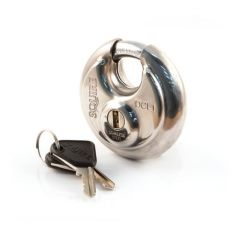 Squire Round Padlock DCL1KA Stainless Steel 70mm