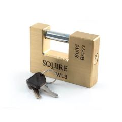 Squire - Commercial Padlock - WL3 - 90 mm Solid Brass