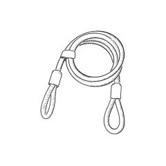 Squire - Security Cable 1800 x 12 mm dia.