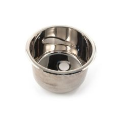 Round Bowl - 260mm i.d. Stainless Steel