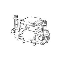Grundfos STR2-2.0 C Twin Regen. Shower Pump 2 bar