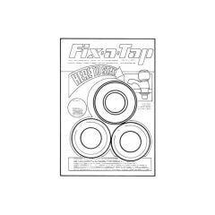 "Fix-a-Tap Tap Fixing Kit - 1/2"", 30mm Pink"