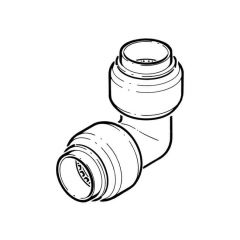 Tectite Classic Push-fit Equal Elbow - 22mm