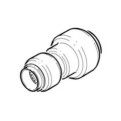 Tectite Classic Push-fit Reducing Coupling 22 x 15mm