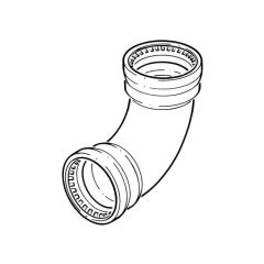 Tectite Sprint Pipe Push-fit Elbow - 22mm